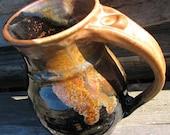 Mocha Swirl Handmade Pottery Coffee Mug
