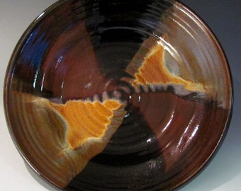 Pottery Platter Medium size in Merlot glaze
