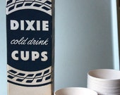 Vintage Pink and White Dixie Cups (Original Box) HELD FOR THEMARKEDWOMAN