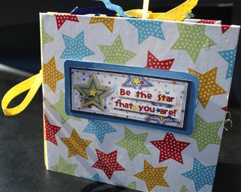 Be The Star That You Are 6x6 Handmade Bound Album