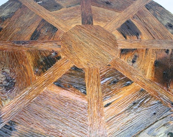 Your Custom Made Reclaimed Barn Wood Star Pub Style Table FREE SHIPPING-RBWS850F