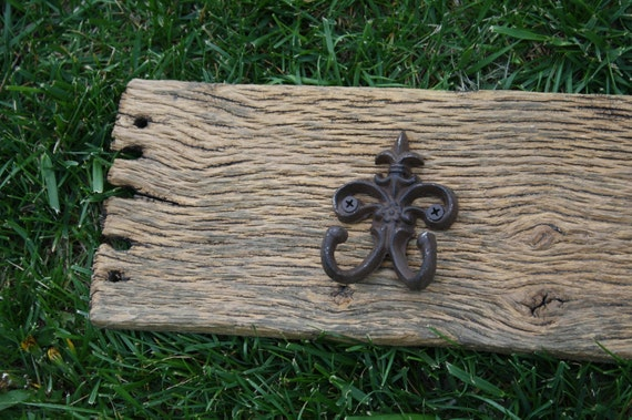 One of a Kind Rustic Barn Wood Coat Hooks