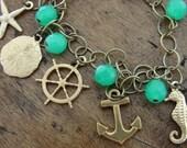Nautical Charm Bracelet (Free US Shipping)