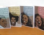 Set of 4 Prints - 90s Nostalgia - Reserved for Matthew