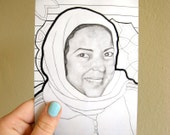 Art Card - Oriental Portrait - Nejet