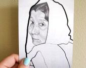 Art Card - Oriental Portrait - Noura