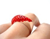 Burning Volcano - Sterling Silver Ring