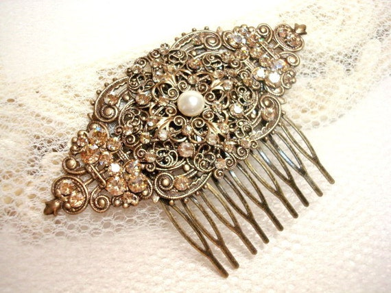 Bridal Hair combs - Headpieces - Bella-Tiaracom