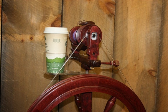 Kromski Sonata Spinning Wheel Cup Holder