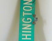 Vintage Washington Street Sign