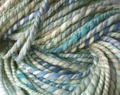 Bad Apple - handspun yarn, super bulky weight