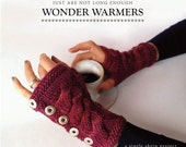 Knitting PDF arm warmers pattern - Wonderwarmers