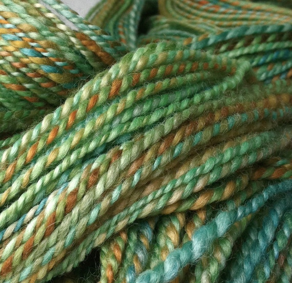 July, July - handspun yarn, worsted weight