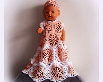 Baby Dress Crochet Pattern / Elegant
