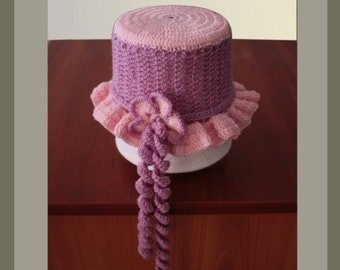 Crochet Pattern /  Baby Hat
