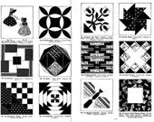 Grandmothers Old Fashioned Quilting Pattern Design (37 Patterns) 731001