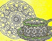 Cup and Saucer Tatting Pattern 729001