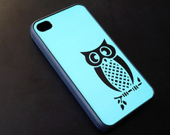Turquoise Green Owl iphone case iPhone 6 Case, iPhone 6 Plus, 6+ Case