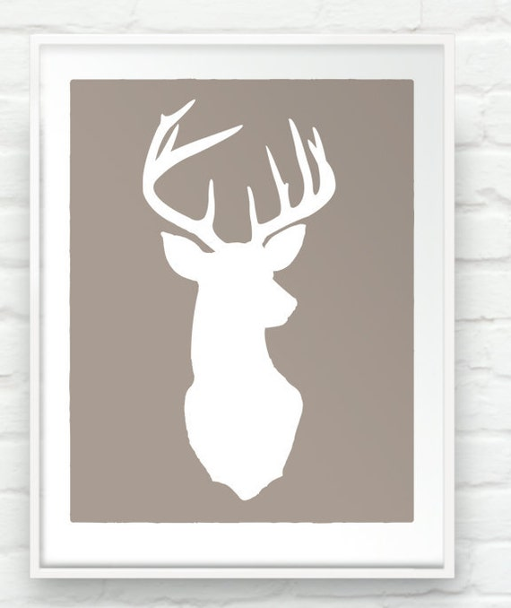 Items Similar To Deer Oh Deer 17x20 Inch Stag Head
