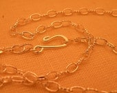 """Silver Plate Chain Blank 18""""  Vintage Style in a 12pc bulk pack"""