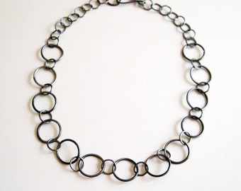 Steel Chain Necklace - Free Domestic Shipping