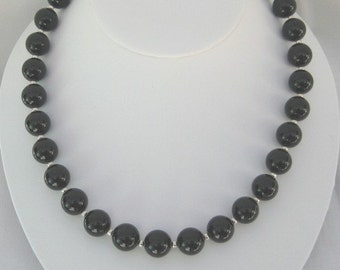 Onyx Necklace (N54)