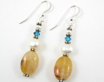 Citrine Earrings (E15)