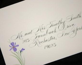 Calligraphy Envelope Addressing, Rook Script Addressing Service