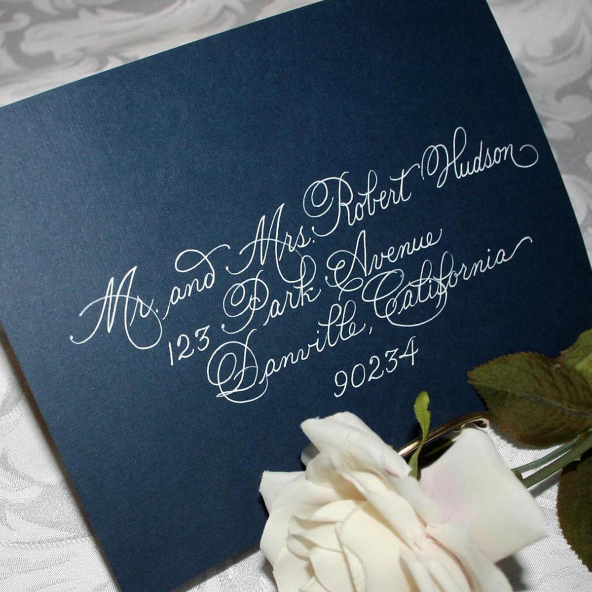 Discount Calligraphy Wedding Envelope Addressing Burgues