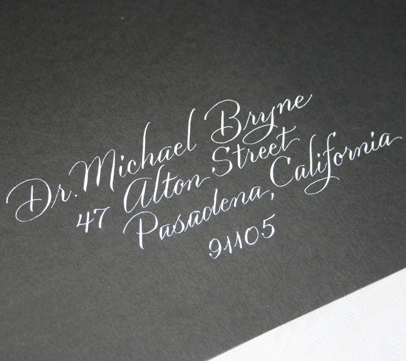 Wedding Calligraphy Envelope Addressing Calligraphy Service