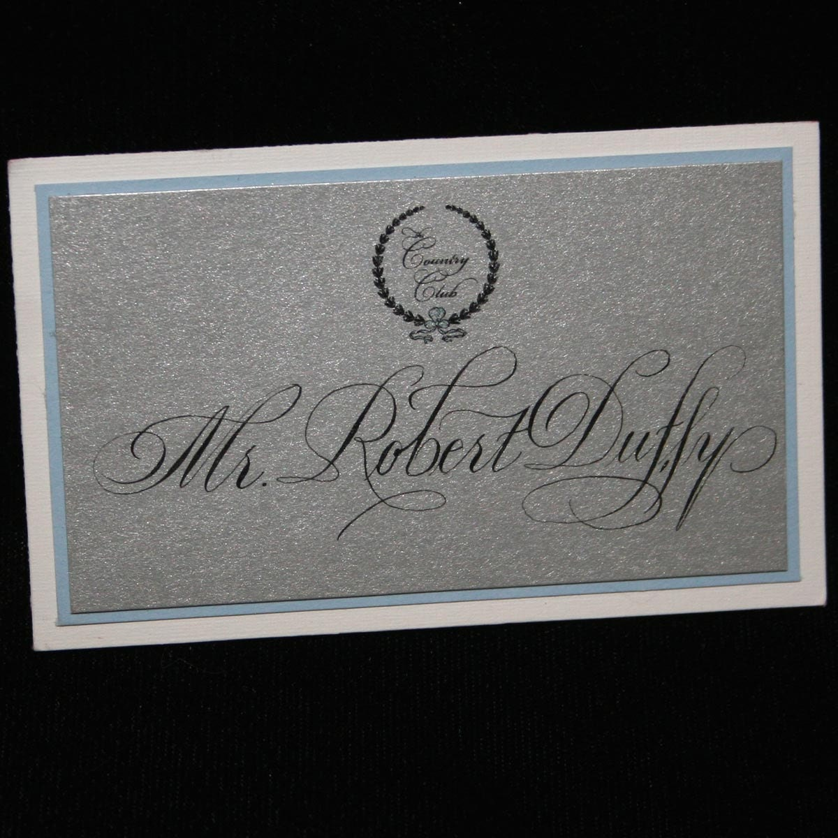 Calligraphy For Place Cards Escort Cards Calligraphy By