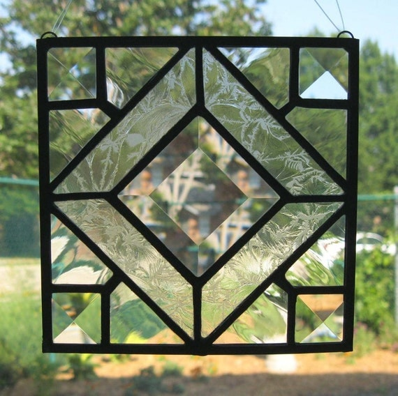Items Similar To Traditional Stained Glass Suncatcher And