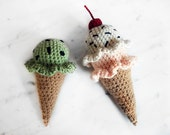 Ice Cream Crochet Pattern