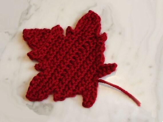 Free Crochet Pattern For Maple Leaf : Maple Leaf Crochet Pattern