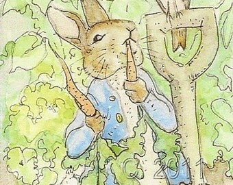Peter Rabbit ACEO Print