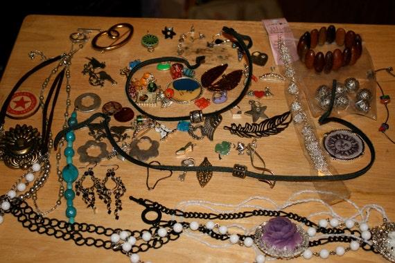 DESTASH jewelry and charms etc