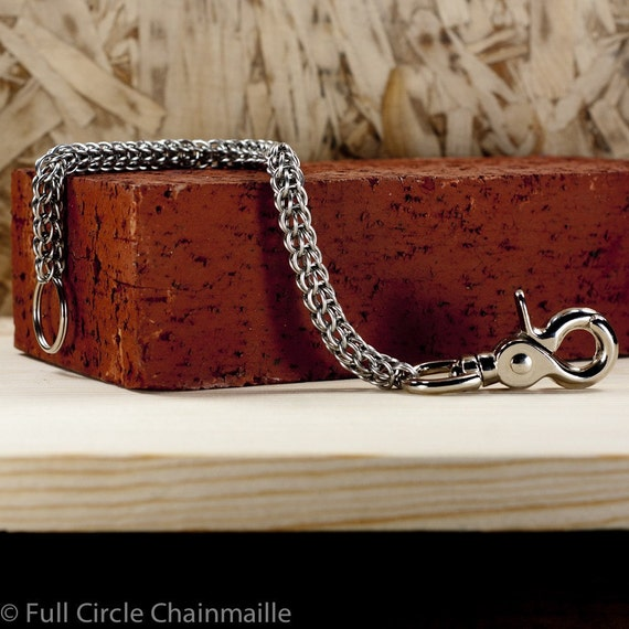 Chainmaille Wallet Chain - Full Persian Pattern