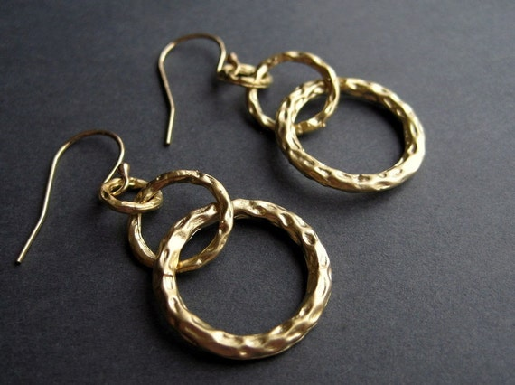 Gold Earrings - Hoop - The Everyday Collection