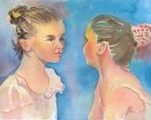 Ballet BFF's      original w/c
