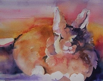 Mr. Rabbit digital print
