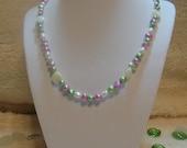 Neon Sea Necklace