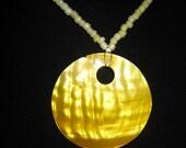 Sunburst Shell Necklace Set