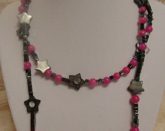 Hematite Stars Necklace
