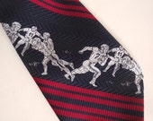 70s Necktie Touch Down Football Tie