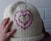 Love Grows Cotton Knit Hat