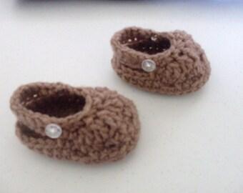 Hand Crocheted Mock Crocs
