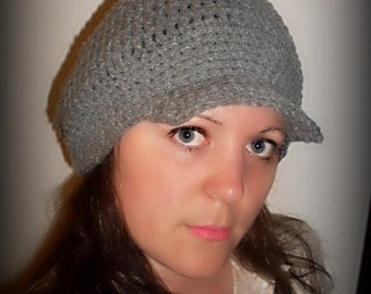 Brimmed Slouchy Hat