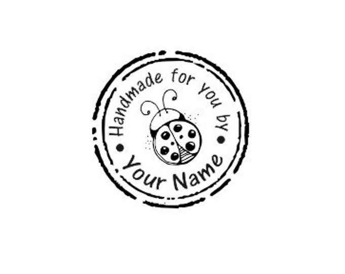 Handle Mounted Personalized custom made rubber stamps H06