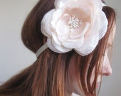 Satin Flower Headband for Brides.Bridesmaids,Flower Girls