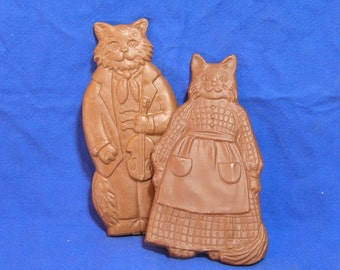 Faux  Chocolate Cats